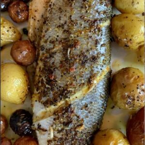Roasted Branzino Fish Recipe